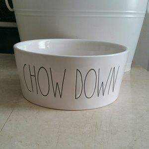 RAE DUNN CHOW DOWN BOWL